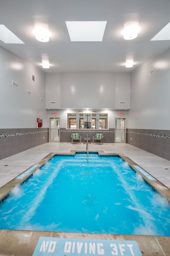 Indoor Hot Tub at Fitness Center Lakeside Village Apartments, Clinton Township 48038