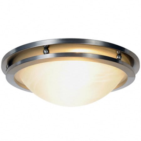 Brushed Nickel Custom Lighting available at Dover Hills Apartments in Kalamazoo, MI