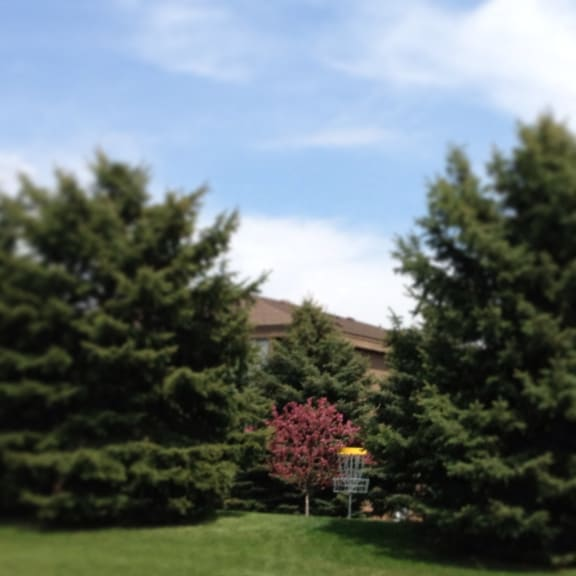 Disc Golf Course at Dover Hills Apartments in Kalamazoo, MI