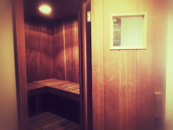 Sauna at Dover Hills Apartments in Kalamazoo, Michigan 48185