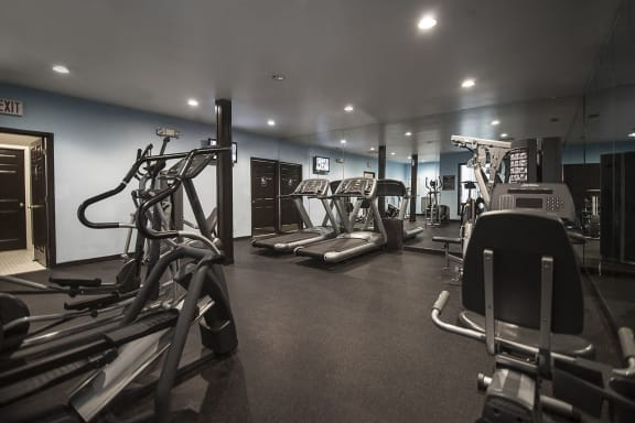 Fully Equipped Fitness Center at Westwood Village Apartments, Westland, 48185
