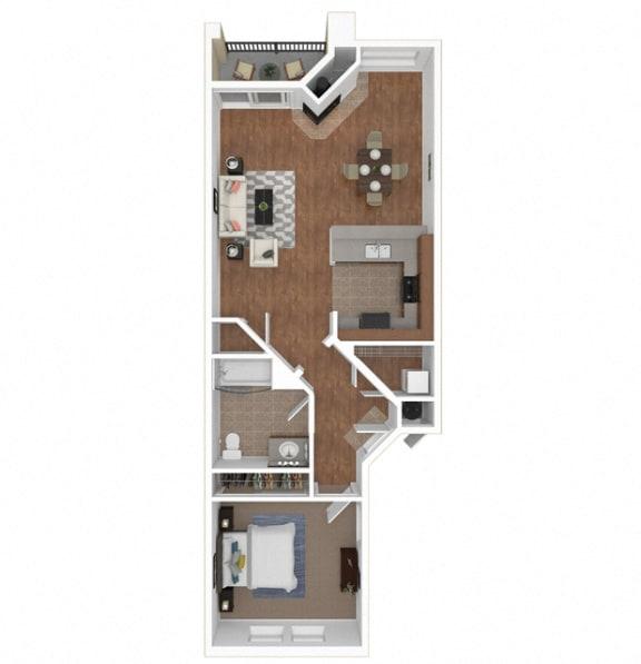 The Costa floor plan at Legends at Rancho Belago, CA, 92553