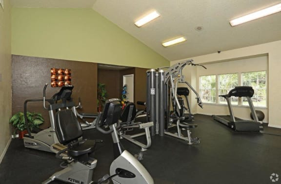 Lake in the Woods fitness center.