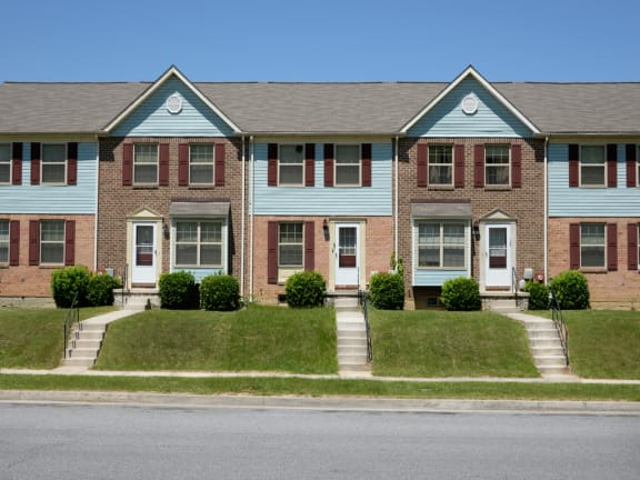 Off street parking available at Walnut Grove Townhomes