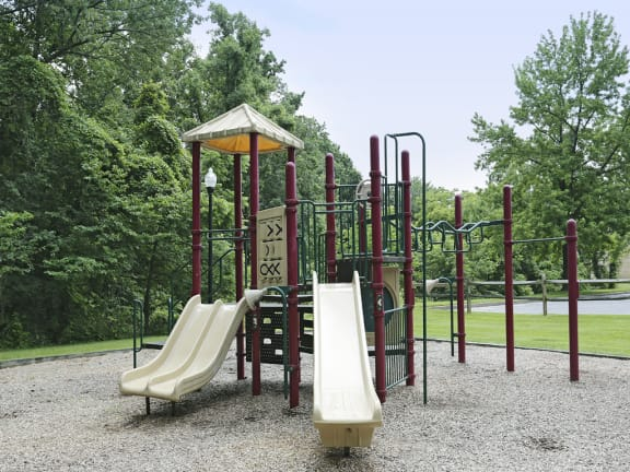 Playground for children at Village of Pine Run Apartments and Townhomes