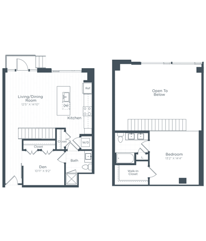 ADL1 Floor Plan at Highgate at the Mile, McLean