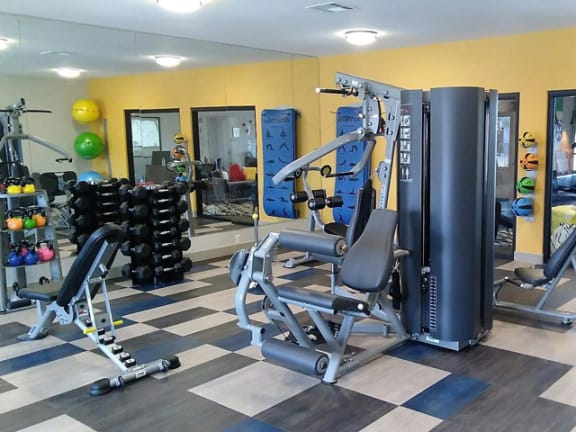 Fitness Center, at Prelude at the Park, Henderson, Nevada