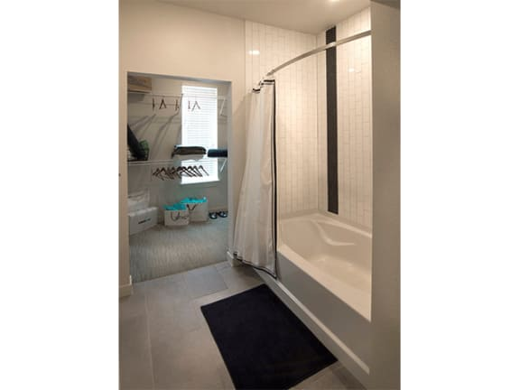 Shower Enclosures at Cycle Apartments, Colorado, 80525