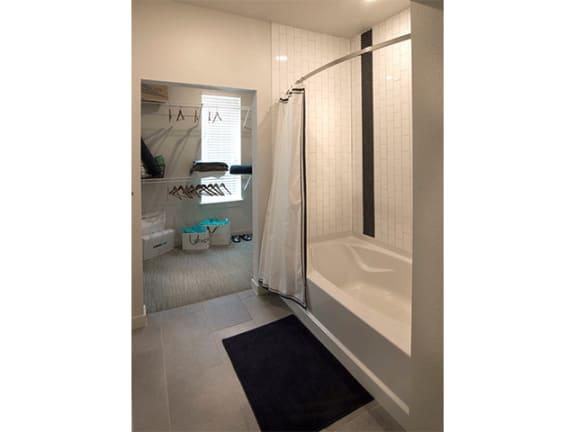 Shower Enclosures at Cycle Apartments, Colorado, 80525