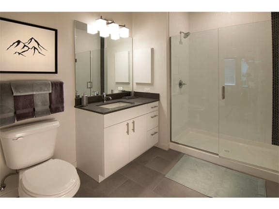 Bathroom Fitters at Cycle Apartments, Ft. Collins, CO