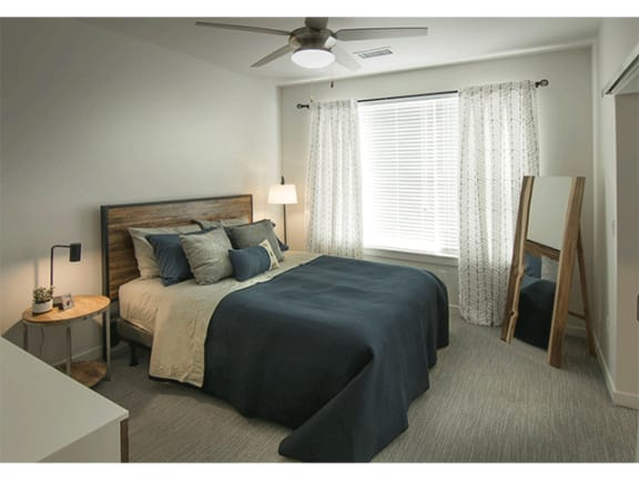 Spacious Bedrooms at Cycle Apartments, Ft. Collins