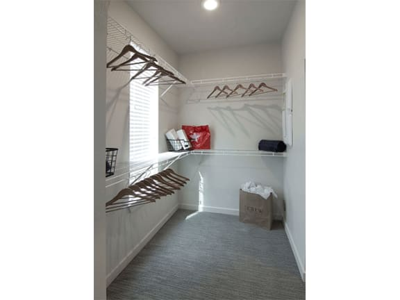Walk-in Closets at Cycle Apartments, Colorado, 80525