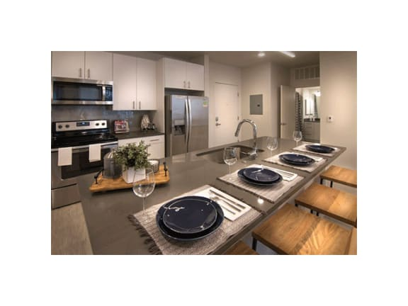 Classic Kitchen Design at Cycle Apartments, Ft. Collins