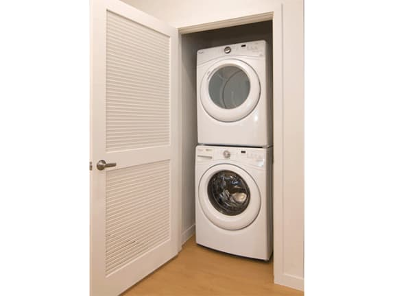 Full Size Washer/Dryer in Each Home at Cycle Apartments, Colorado