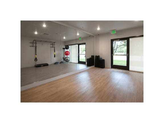 24/7 Yoga/Movement Studio With Fitness On Demand at Cycle Apartments, Ft. Collins, CO
