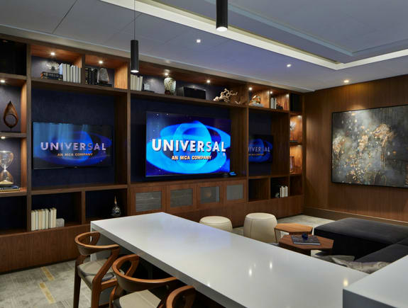 Media Room for Sports and Movies at Stratus