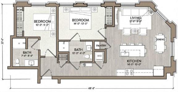 Floor Plan  Bill Evans