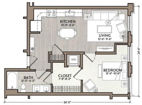 Floor Plan  Dizzy Gillespie