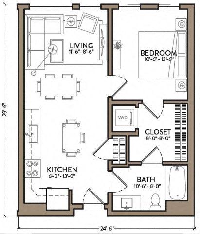 Floor Plan  Ella Fitzgerald
