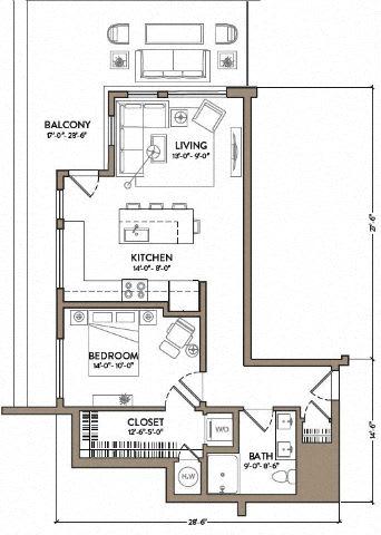 Floor Plan  George Shearing