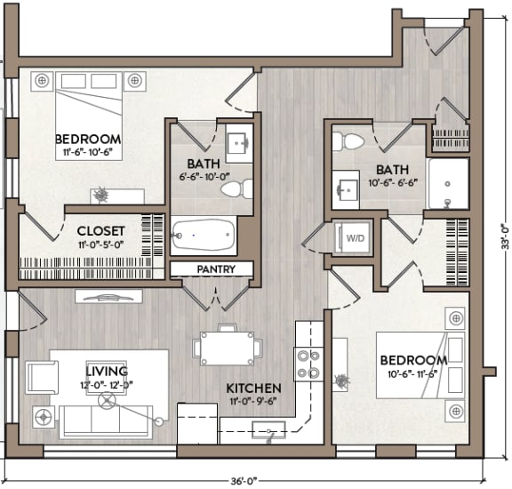 Floor Plan  James Brown