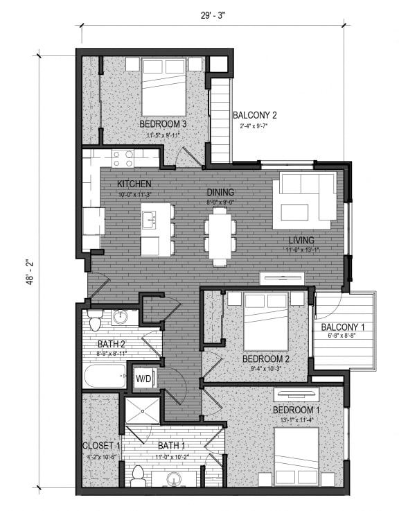 Floor Plan  The Beck