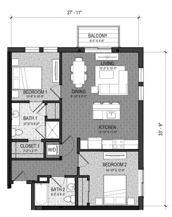 Floor Plan  The Brook 2K
