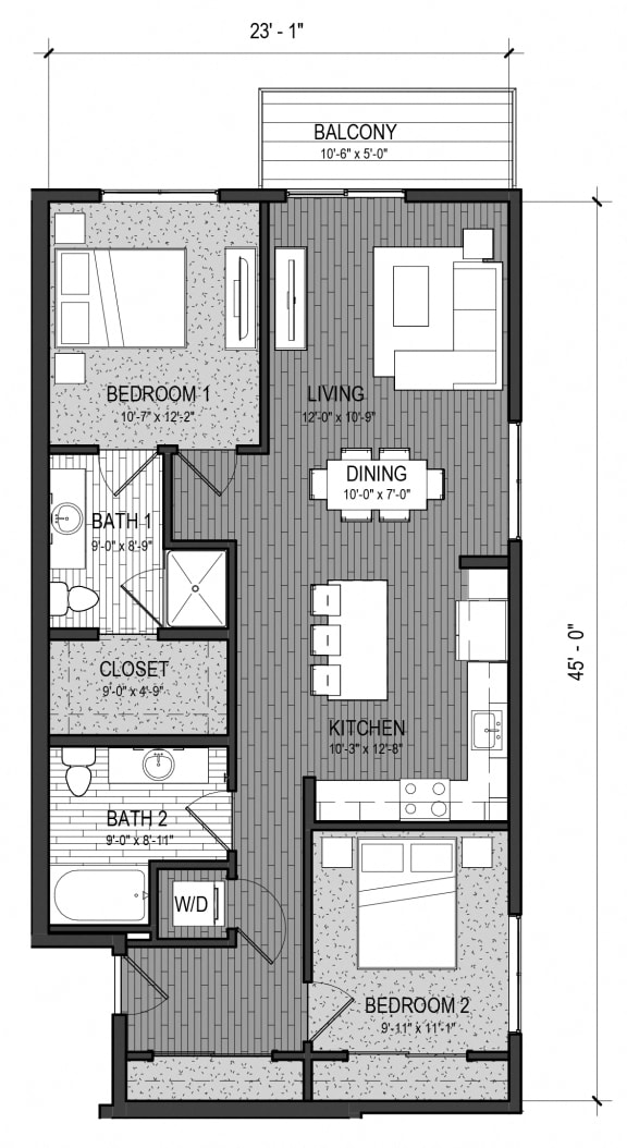 Floor Plan  The Confluence 2F