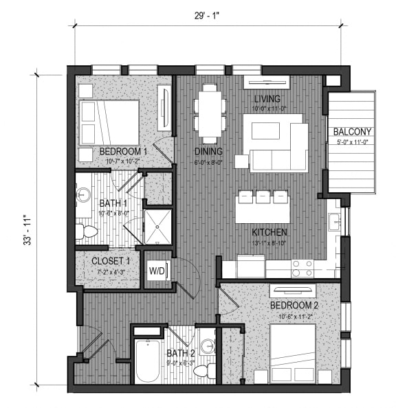 Floor Plan  The Rapid 2C