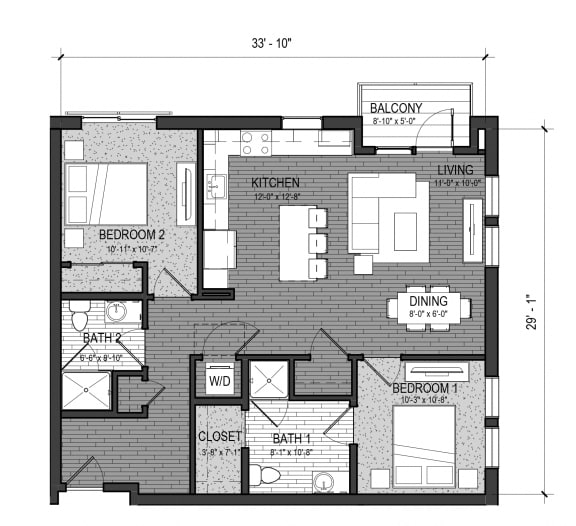 Floor Plan  The Rapid (A)- 2E