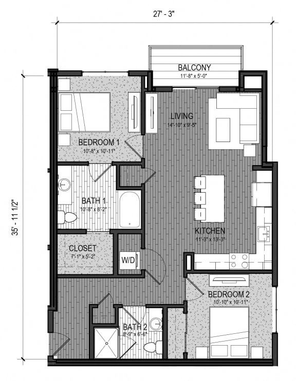 Floor Plan  The Rapid 2J