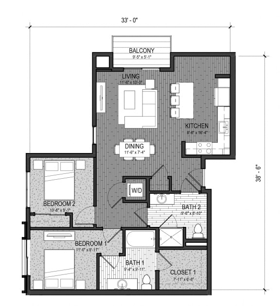Floor Plan  The Tributory