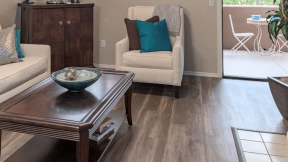 Elegant Flooring at La Reserve Villas in 85737