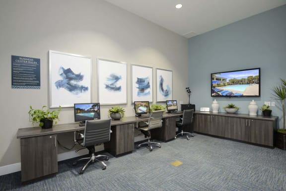 Business center at Preserve at Melrose, Vista, 92083