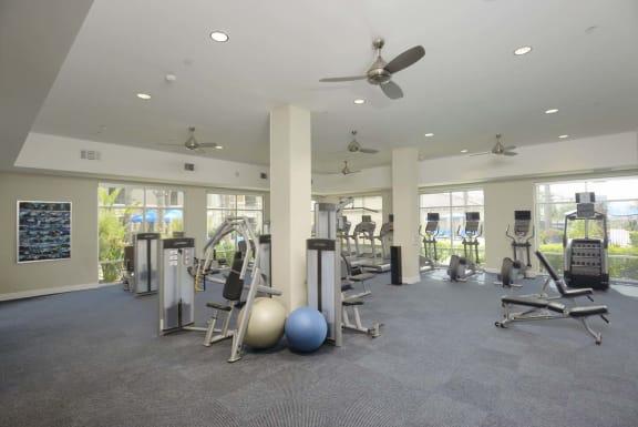Fitness Center at Preserve at Melrose, Vista, CA