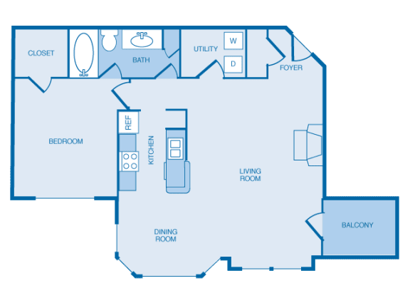 A3 Floorplan at The Legends at Indian Springs, Kentucky, 40241