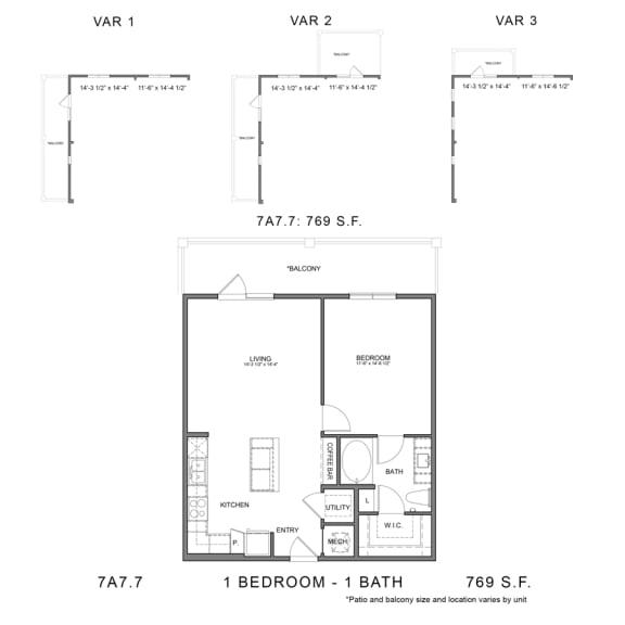 Floor Plan  7A7.7