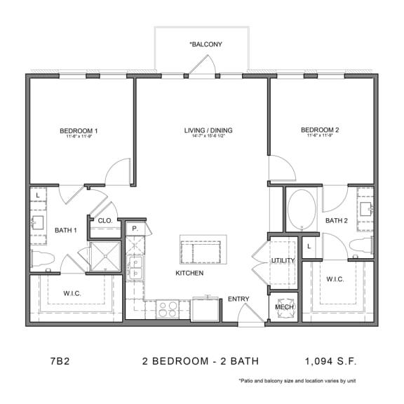 Floor Plan  7B2