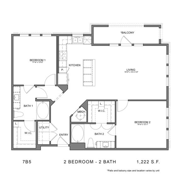 Floor Plan  7B5
