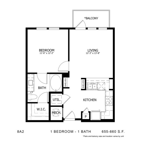 Floor Plan  8A2