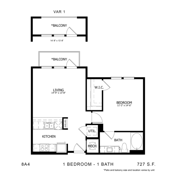 Floor Plan  8A4