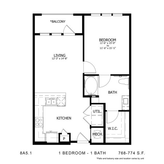 Floor Plan  8A5.1