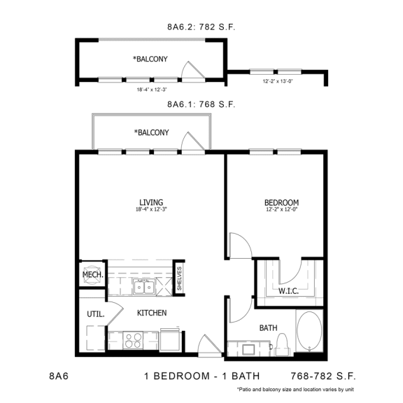 Floor Plan  8A6