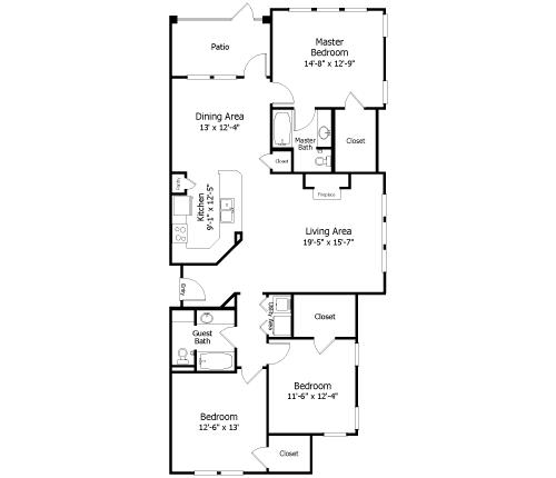 Floor Plan  3C2