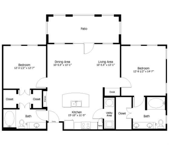 Floor Plan  4B1