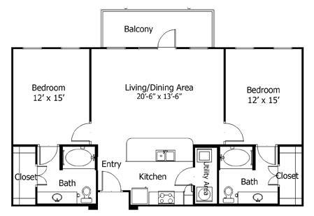 Floor Plan  5B1