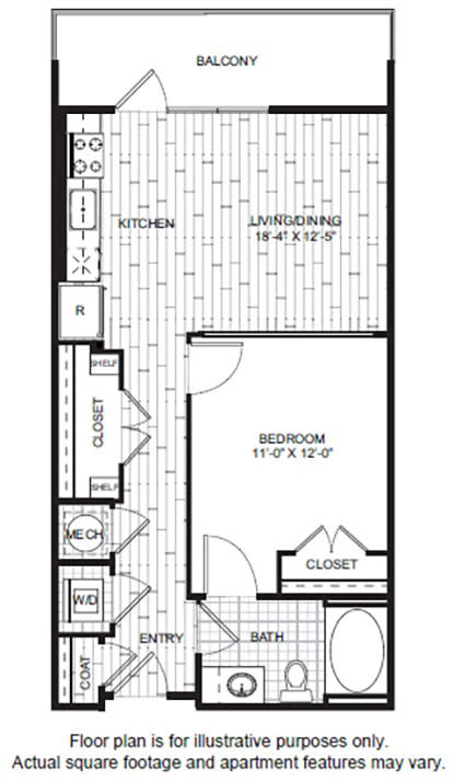 Floor Plan  A3 Floor Plan at Windsor CityLine