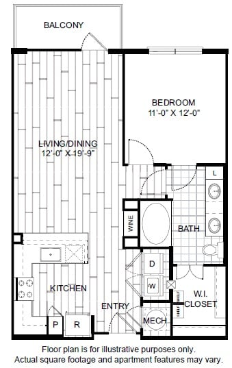 Floor Plan  A4-1 Floor Plan at Windsor CityLine