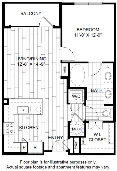 Floor Plan  A4 Floor Plan at Windsor CityLine