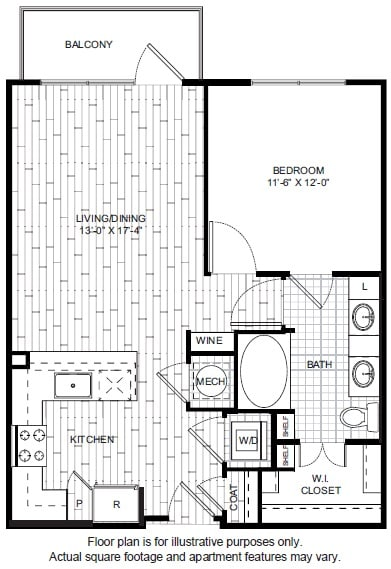 Floor Plan  A5 Floor Plan at Windsor CityLine